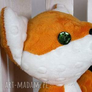 ręcznie wykonane maskotki lis lis rysiek