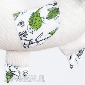 hand made maskotki maskotka kurzy orzeł uszyty jest z tkanin pozyskanych ze