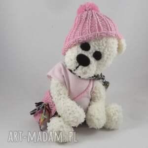 miś maskotki różowe matylda