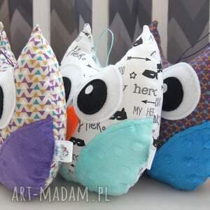 prezenty na święta mini sowa - przytulanka maskotka