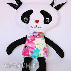 czarne maskotki panda misiu hania 44 cm