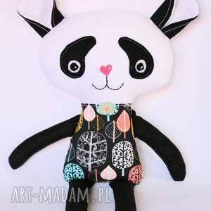 czarne maskotki panda misiu zuza 44 cm