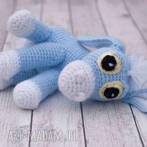 amigurumi maskotki niebieskie osiołek dyzio marzyciel mini