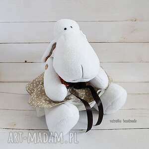 zabawka maskotki brązowe owieczka (107)