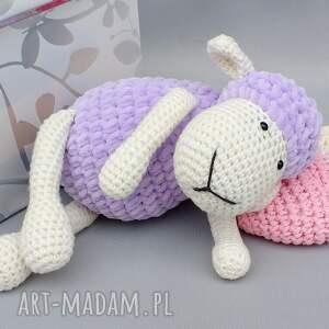 handmade maskotki zabawka owieczka matylda