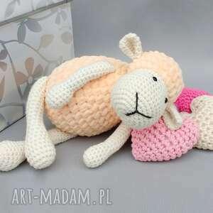 hand-made maskotki zabawka owieczka matylda
