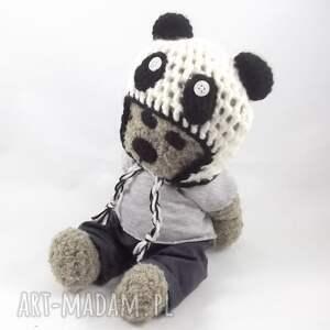 szare szydełkowy panduś