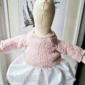 pomysł na świąteczne prezenty różowe pani królik