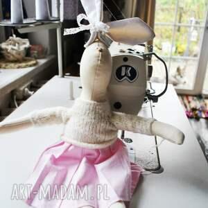 PeppoFactory ręcznie robione maskotki maskotka pani królik