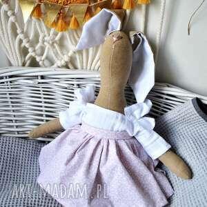 handmade maskotki przytulanka pani królik maskotka
