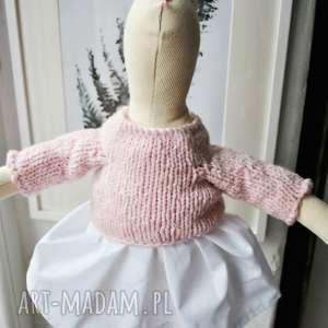 pomysł na świąteczne prezenty przytulanka nazywam się pani królik. jestem przytulanką