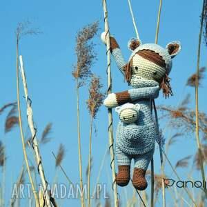 Anolina maskotki: Piękna szydełkowa lala z bobaskiem na zamówienie