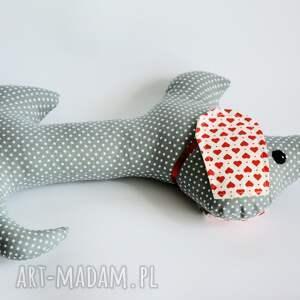 handmade maskotki pies jamnik - jacuś - 35