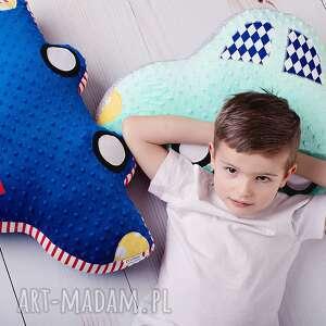 hand-made maskotki poduszka-auto poduszka dziecięca auto