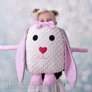 maskotki królik-hand-made poduszka dziecieca królik z uszami
