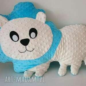 nietuzinkowe maskotki poduszka lew dziecięca lew