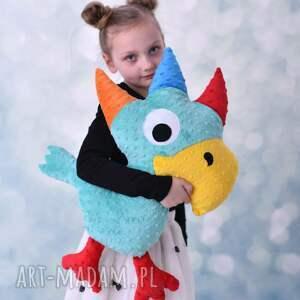 ręcznie wykonane maskotki poduszka papuga dziecięca