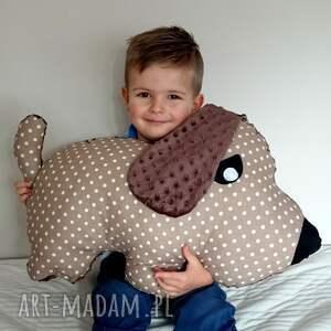 maskotki piesek poduszka dziecięca pies