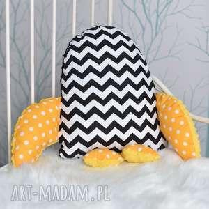 ręcznie zrobione maskotki poduszka pingwin prześliczna, mięciutka dziecięca