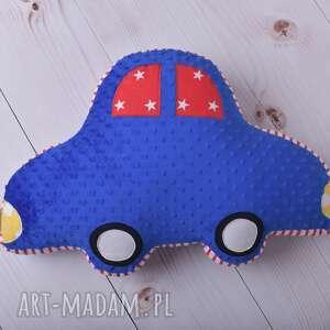 zielone maskotki poduszka-auto poduszka dziecięca auto