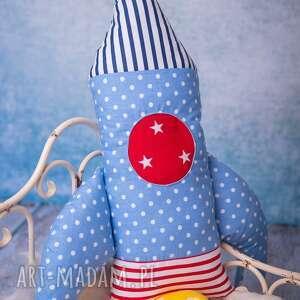 hand made maskotki rakieta-poduszka poduszka dziecięca rakieta
