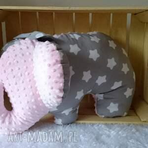 ręcznie zrobione maskotki poduszka słoń dziecięca