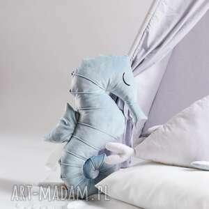 maskotki poduszka przytulanka konik morski