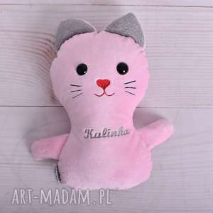 efektowne maskotki przytulanka-kot przytulanka dziecięca kotek z