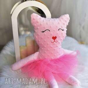 maskotki kot minky przytulanka dziecięca kot