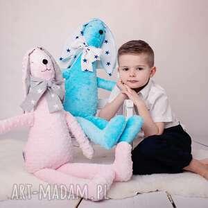 maskotki królik-hand-made przytulanka dziecięca królik duży