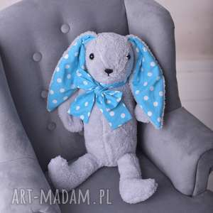 królik-maskotka maskotki różowe przytulanka dziecięca królik