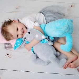 maskotki królik-maskotka przytulanka dziecięca królik