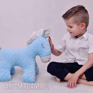 różowe maskotki poduszka koń przytulanka dziecięca stojący 2