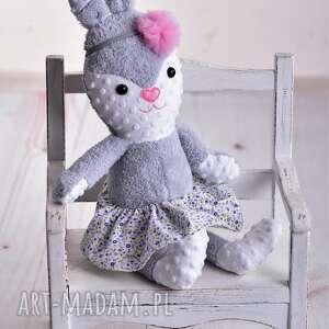 hand-made maskotki poduszka-dziecięca przytulanka dziecięca królik