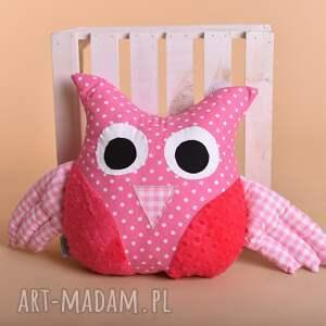 wyjątkowe maskotki poduszka sowa przytulanka dziecięca