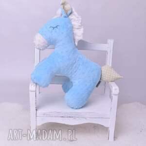 AtelierMalegoDesignu Przytulanka dziecięca koń stojący 2 kolory pokój dziecka