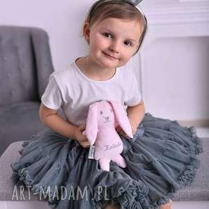 różowe maskotki przytulanka królik dziecięca