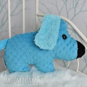 AtelierMalegoDesignu maskotki: Przytulanka dziecięca pies różne kolory - minky super prezent