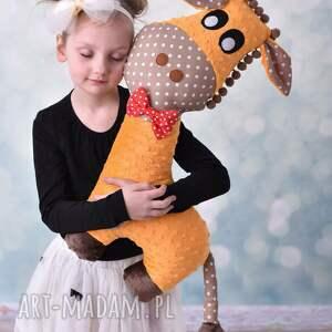 atrakcyjne maskotki żyrafa poduszka przytulanka dziecięca