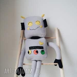 handmade maskotki robot przytulanka bartek