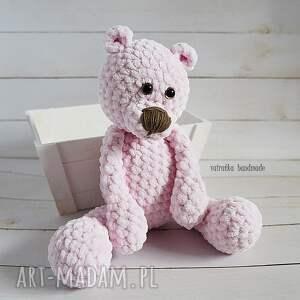 zabawka maskotki różowy miś, 101