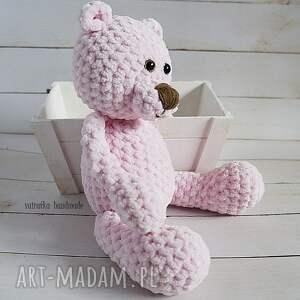 maskotki zabawka różowy miś, 101