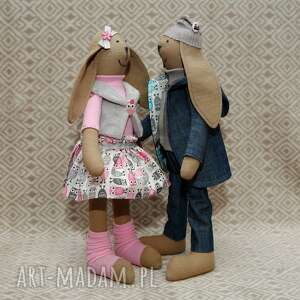 sowa maskotki różowe siostra krawaciarzy