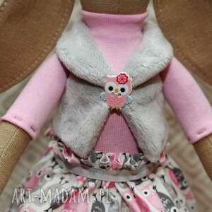 eleganckie maskotki roczek siostra krawaciarzy sowa