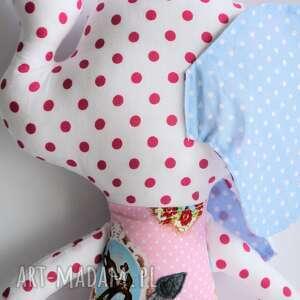 słoń maskotki różowe farciarz - emma