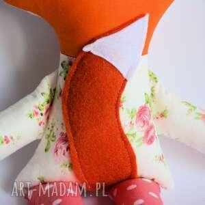 lisek maskotki pomarańczowe sprytny - kasia 42 cm