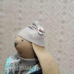 handmade maskotki szmacianka starszy bliźniak krawaciarz