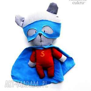 atrakcyjne maskotki bohater super - miś