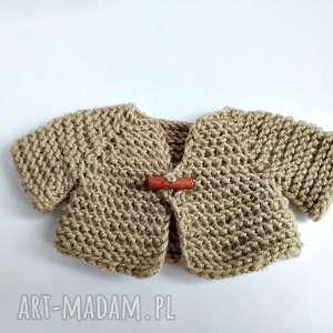 brązowe maskotki dlamisia sweterek dla misia
