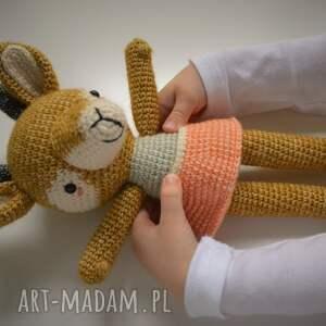 handmade maskotki prezent szydełkowa przytulanka madame